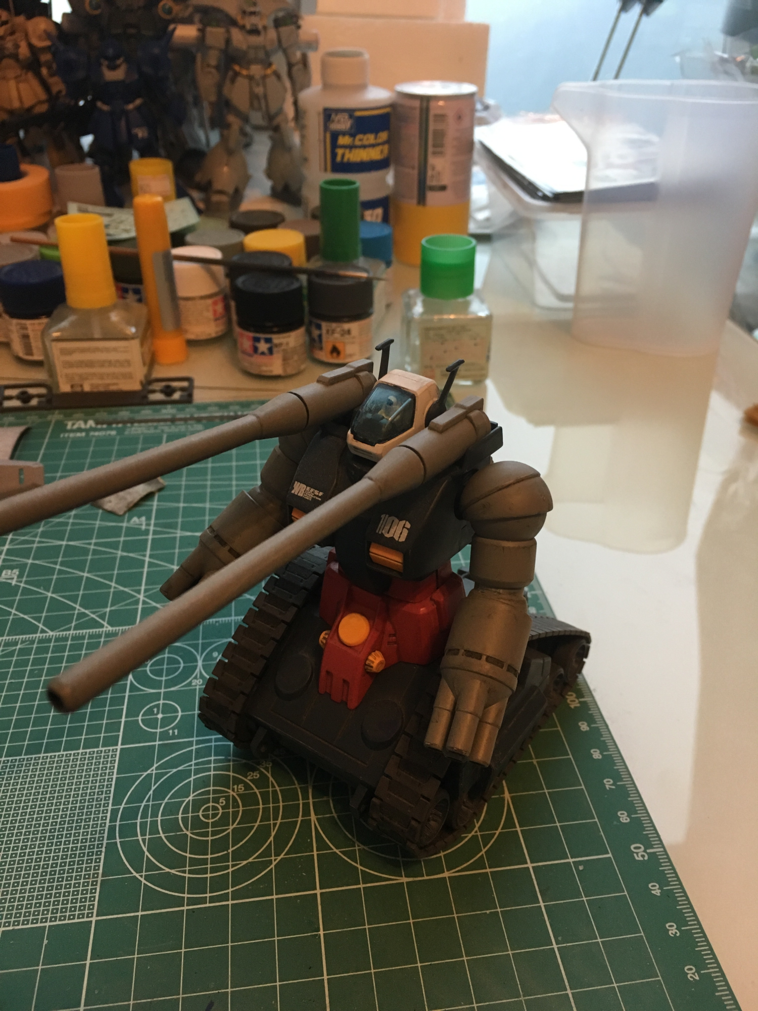 HGUC gun tank