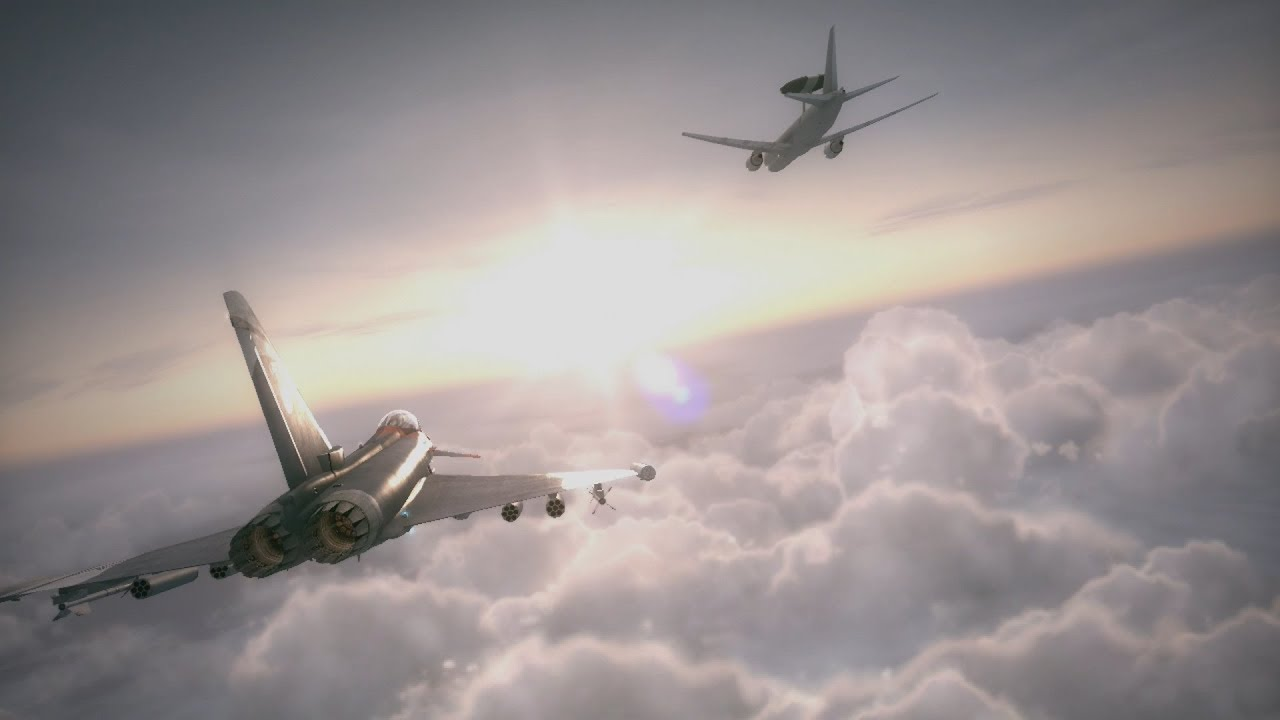 """Ace Combat 6.5 HD ReMIX - Mission 15 """"Chandelier"""""""