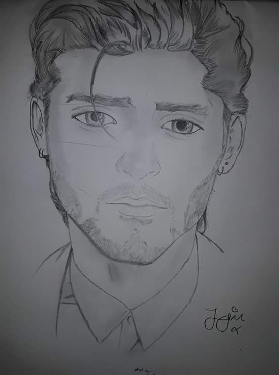 Drawing Of Zayn Malik Discussions One Direction Wiki Fandom