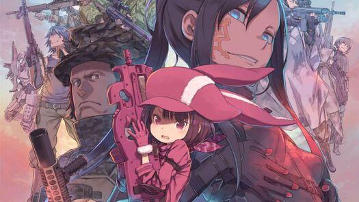 Fecha de estreno anime Sword Art Online: Alternative Gun Gale Online