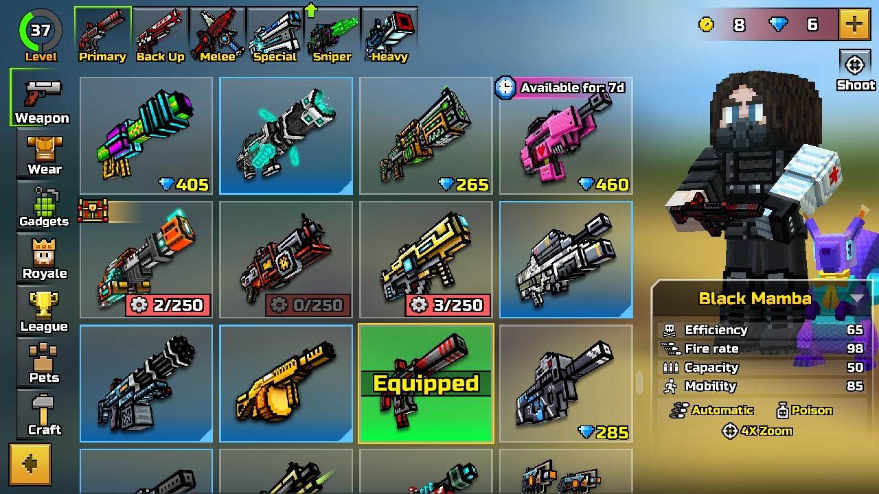 New Guns :)