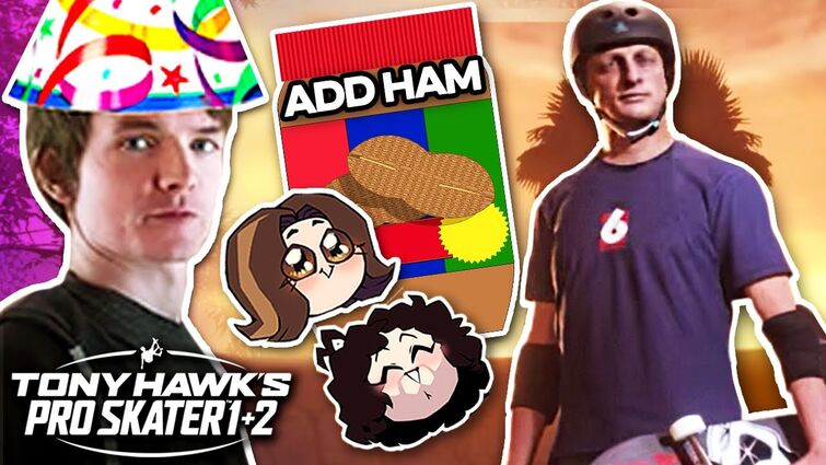 RubberRoss's Dad Puts Peanut Butter On His Ham - Tony Hawk Pro Skater 1+2 x Grumps and Rubber Ross