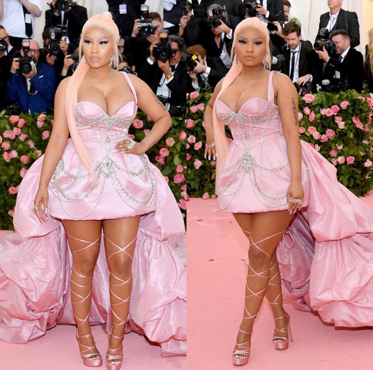 The queen turned up to the met gala for us Barbz looking fire as fuck Xxxx