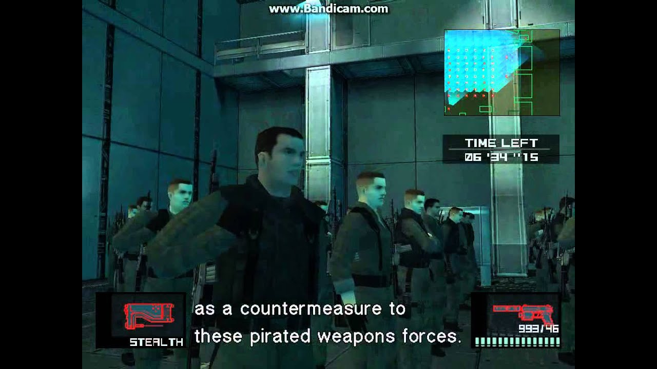 Metal Gear Solid 2: Substance - Conference made more fun!