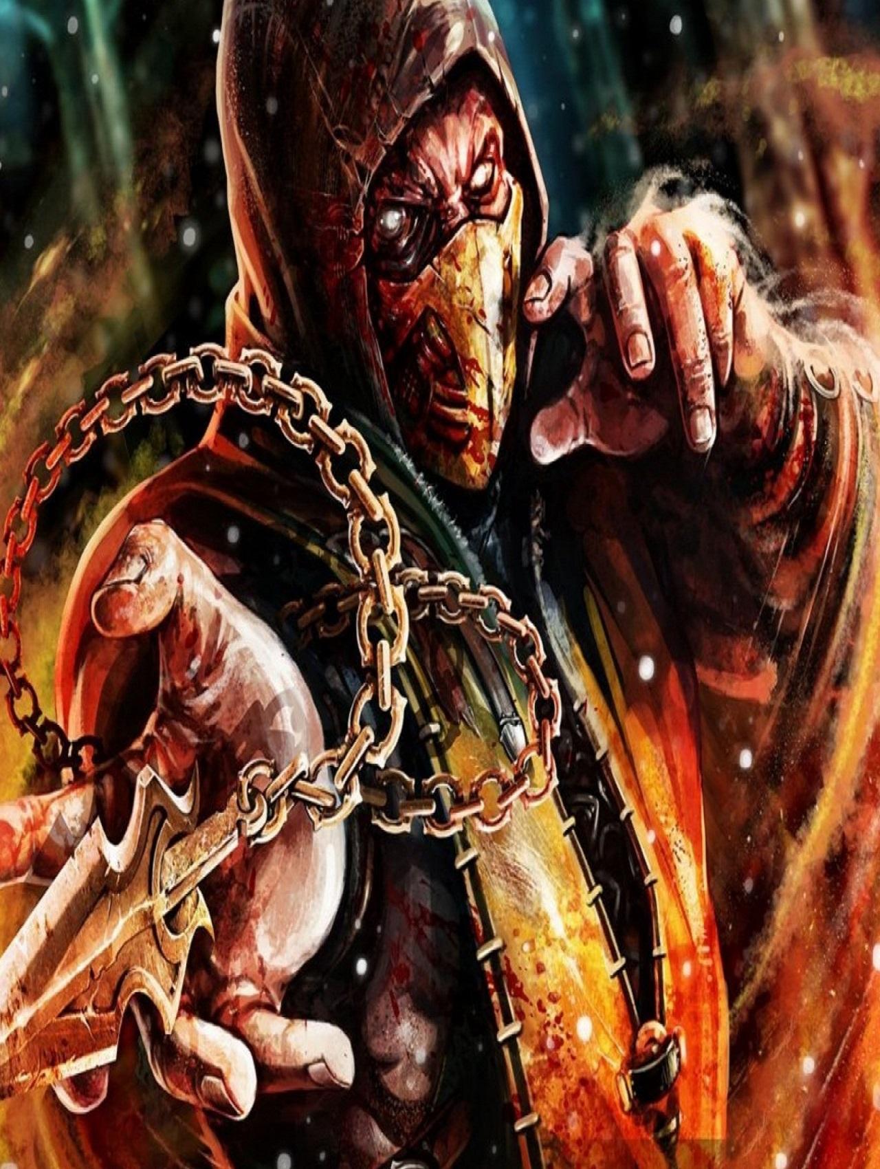 Escorpion seria legal uma historia que ele fosse do bem