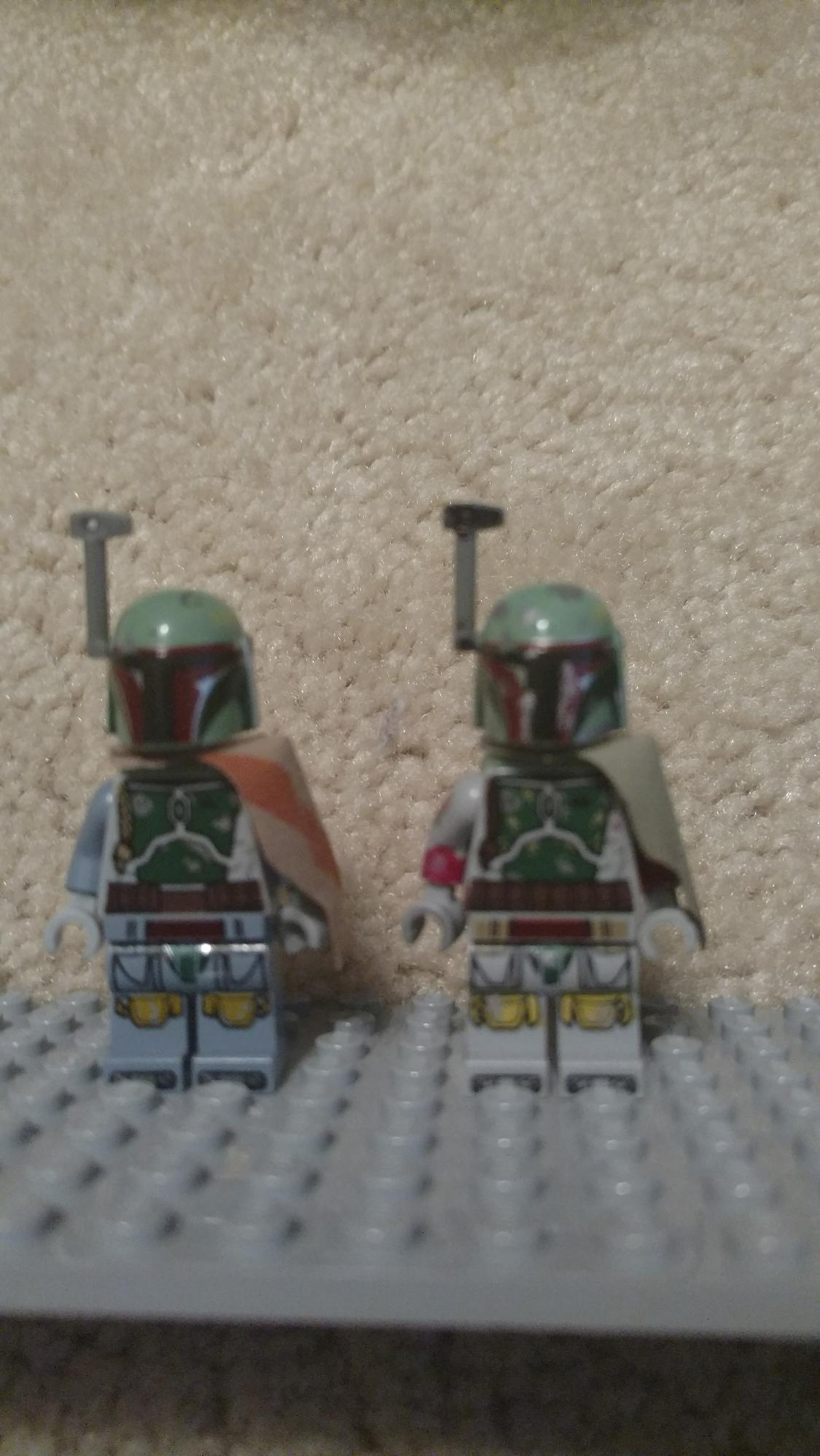 LEGO Custom 1: LEGO Boba Fett vs My Custom Battlefront Edition Boba Fett.