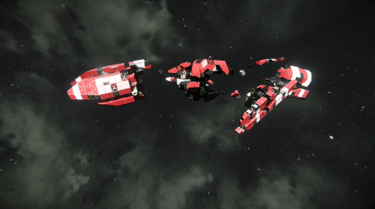 I found these HEC Debris, and I was wondering what ship it is? I was not able to find anything, Ty