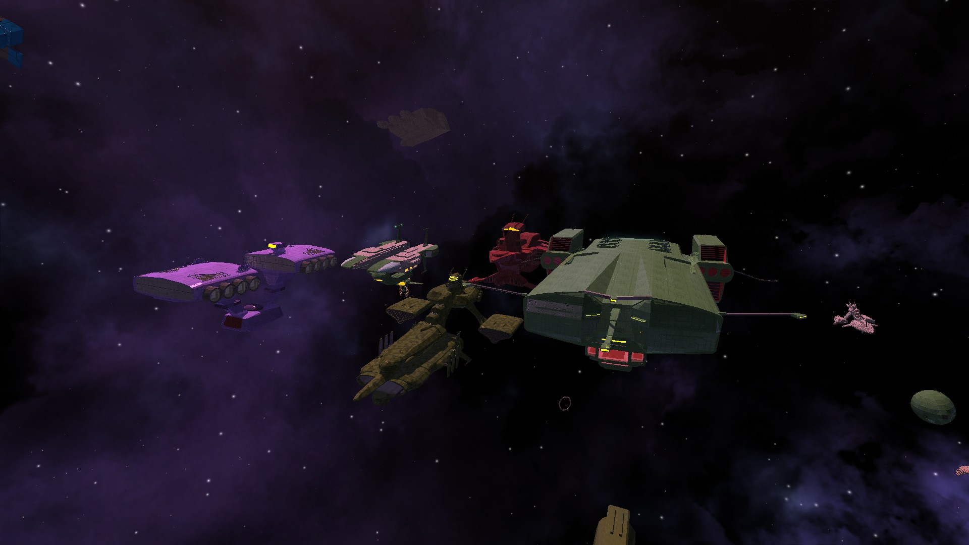 Zeon Fleet (in Avorion)