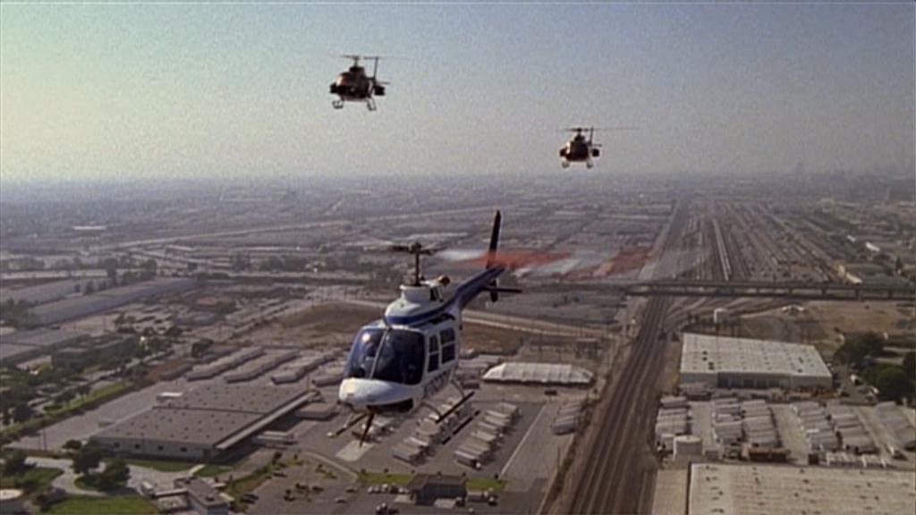 'Copter Chase Over L.A.