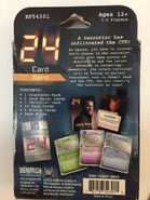 24 card game back of box