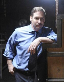 24- Day 8 guest star D.B. Sweeney behind the scenes with Kiefer.jpg