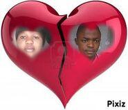Claude et Mireille dans love