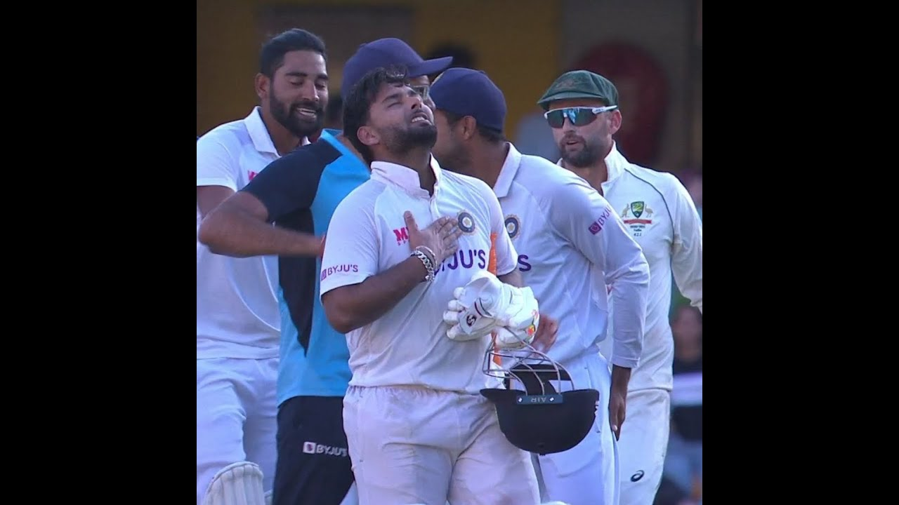 Rishabh Pant Winning Shot | Winning Moment for Team India | Rishabh Pant Batting Today #Shorts