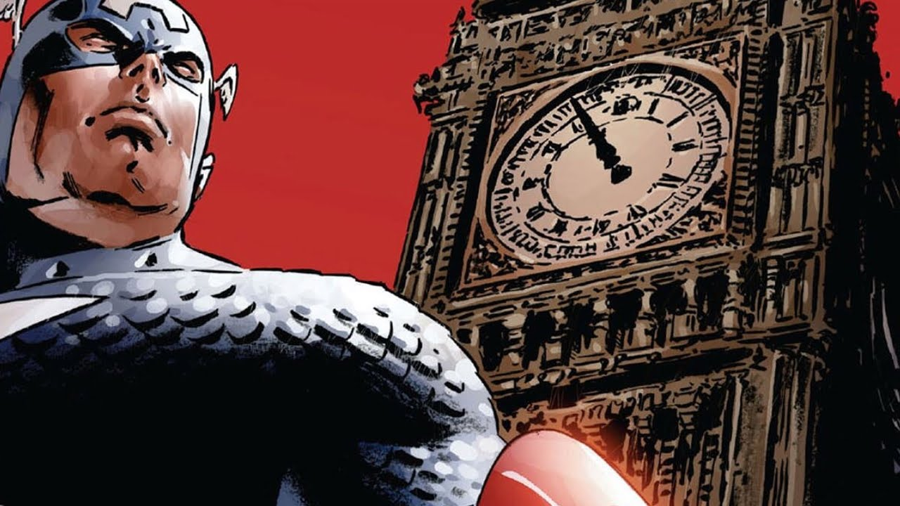Captain America |Menace| Motion Comic Trailer - Red Skull Returns