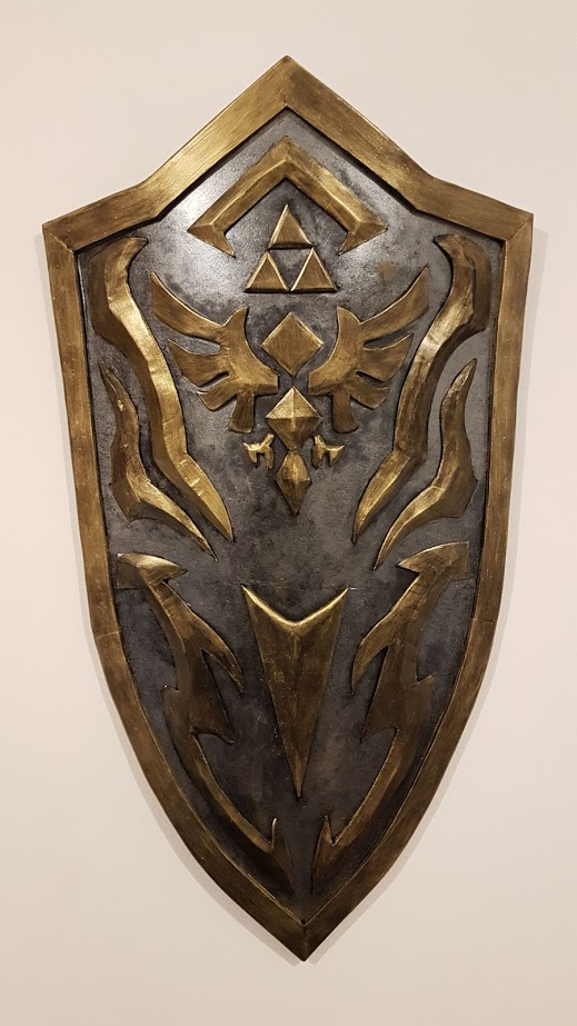 Finally finished my version of the Royal Shield https