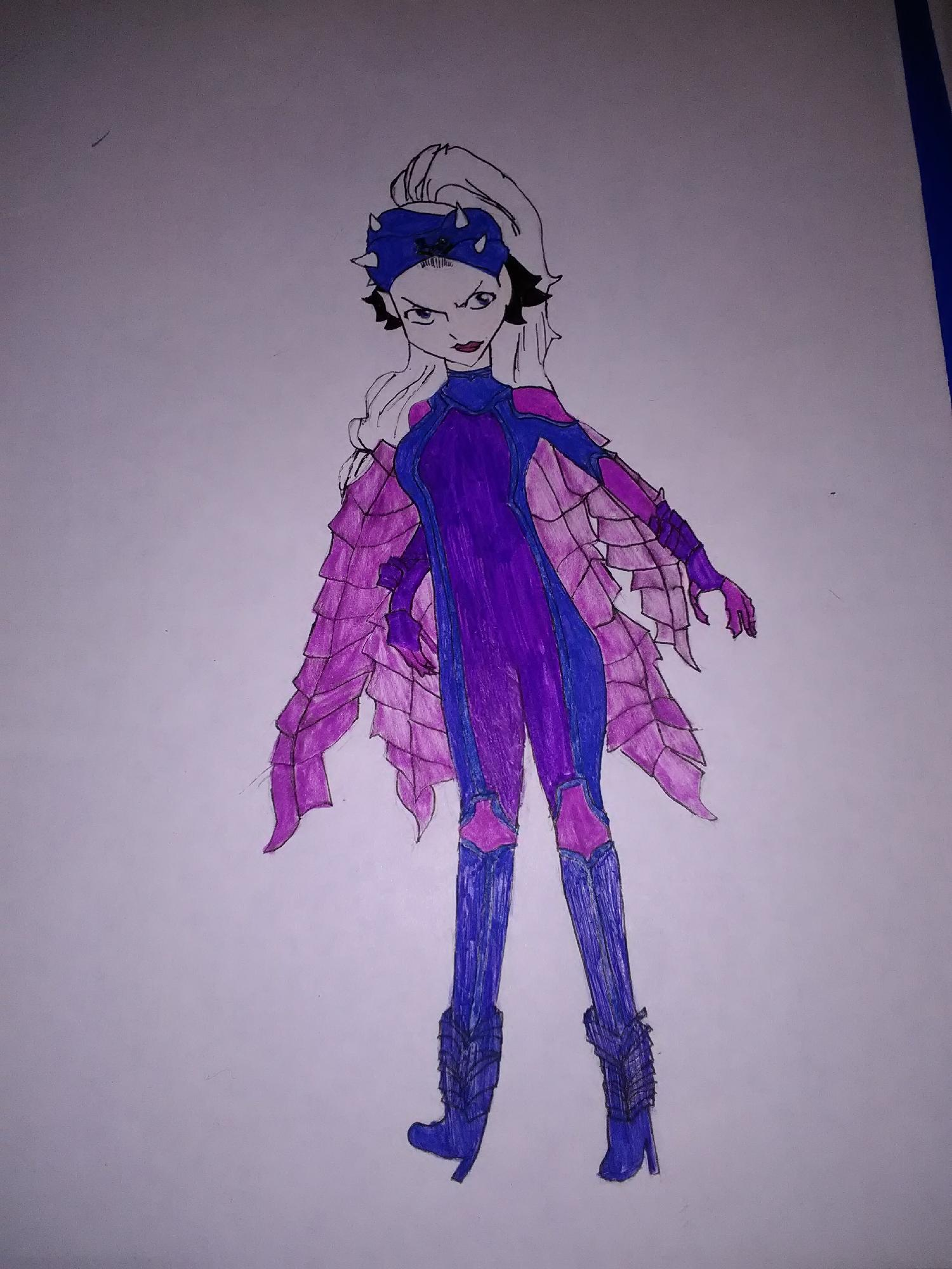 My drawing of Mirajane alegria