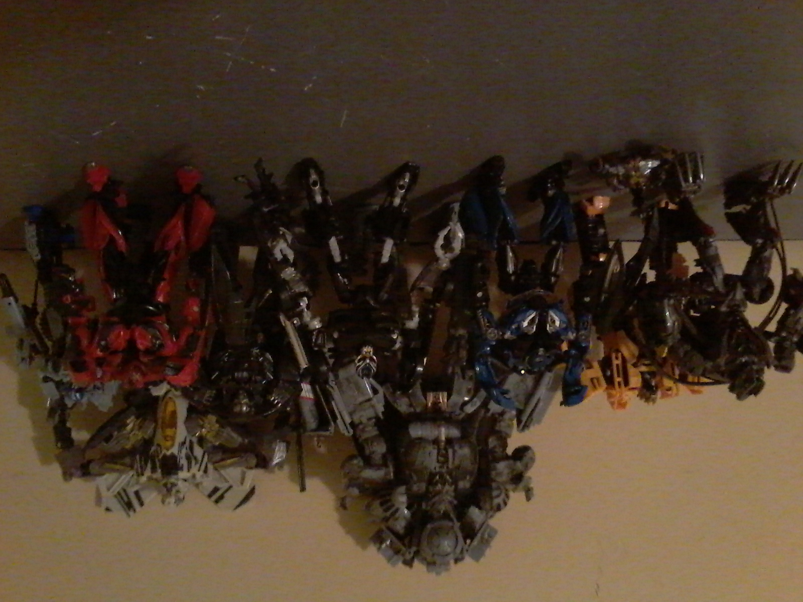 My transformers studio series decpticons