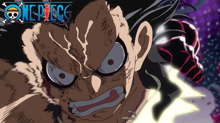 Snake Man Luffy vs Katakuri   One Piece