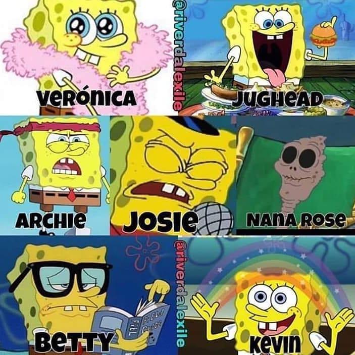 Spongebob in Riverdale