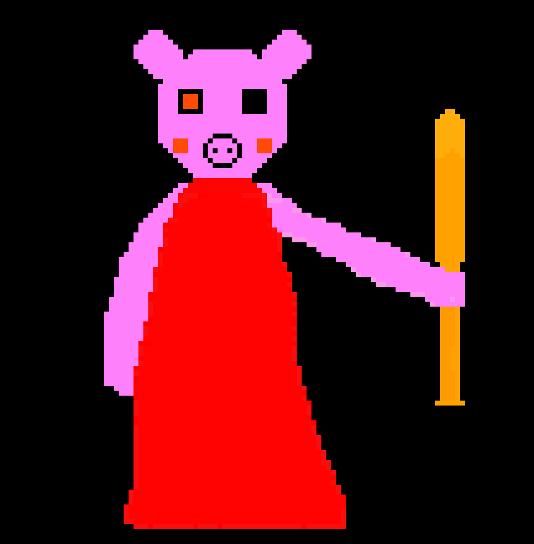 Roblox Drawing Piggy Roblox Animation
