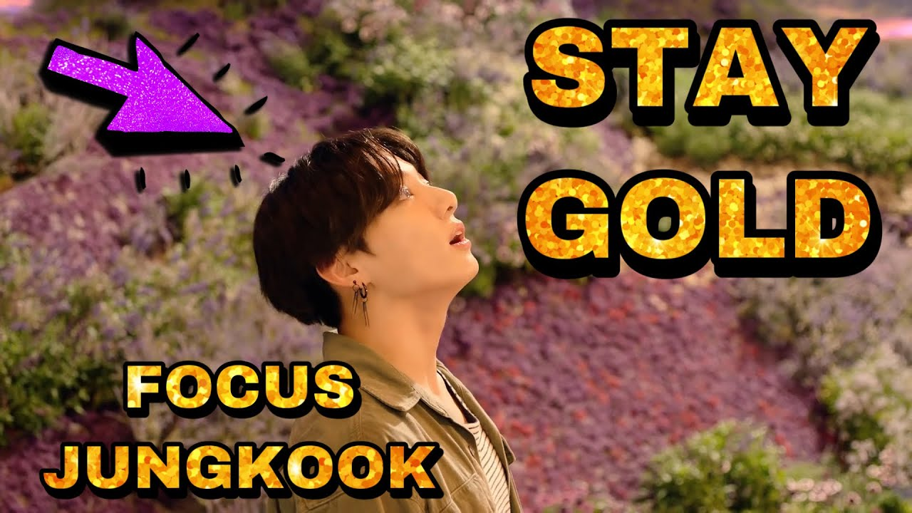 BTS - Stay Gold MV (Jungkook focus)