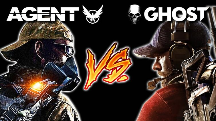 Division Agent Vs Ghost