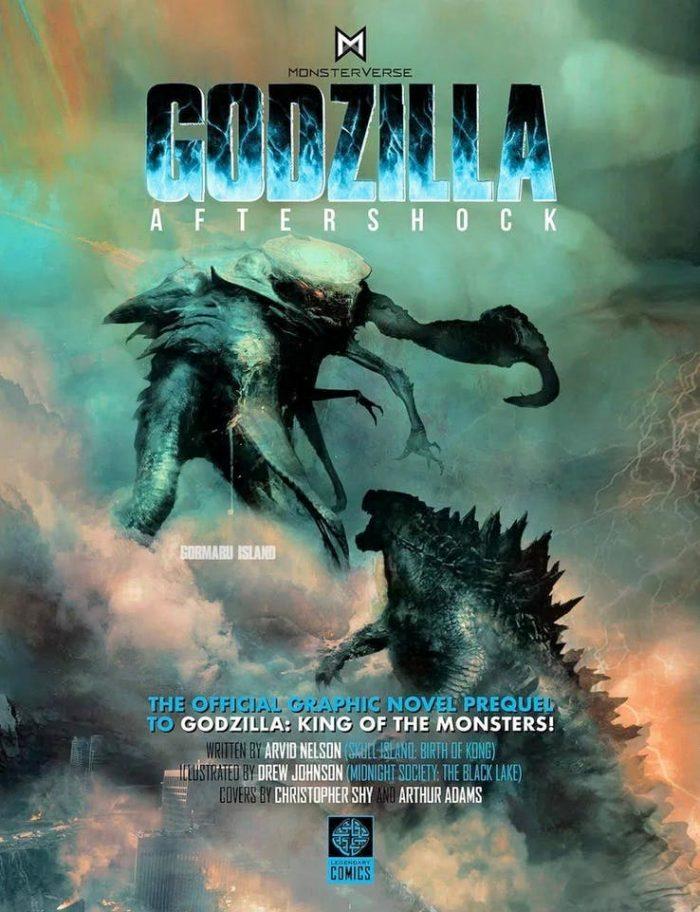Cómic precuela de Godzilla King of monsters