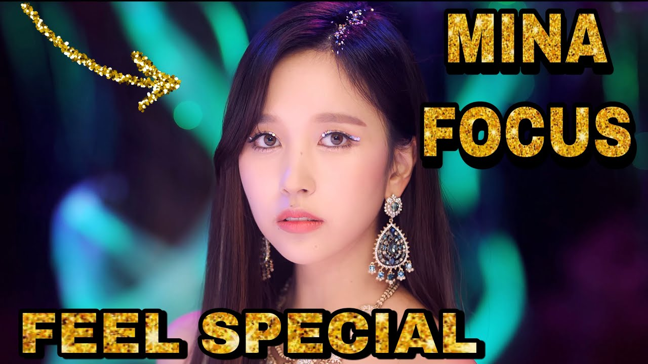 TWICE - Feel Special MV (Mina focus)