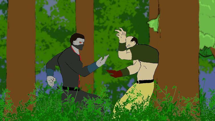 King of Fighter ~ Ron vs Hizoku clan
