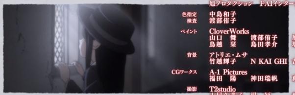 Подскажите, что за девочка появляется в каждом эндинге. Её не было не в аниме, не в манге.