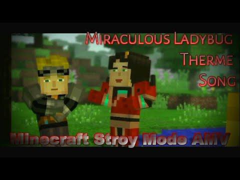 Miraculous Ladybug Theme Song 【Minecraft Story Mode AMV】