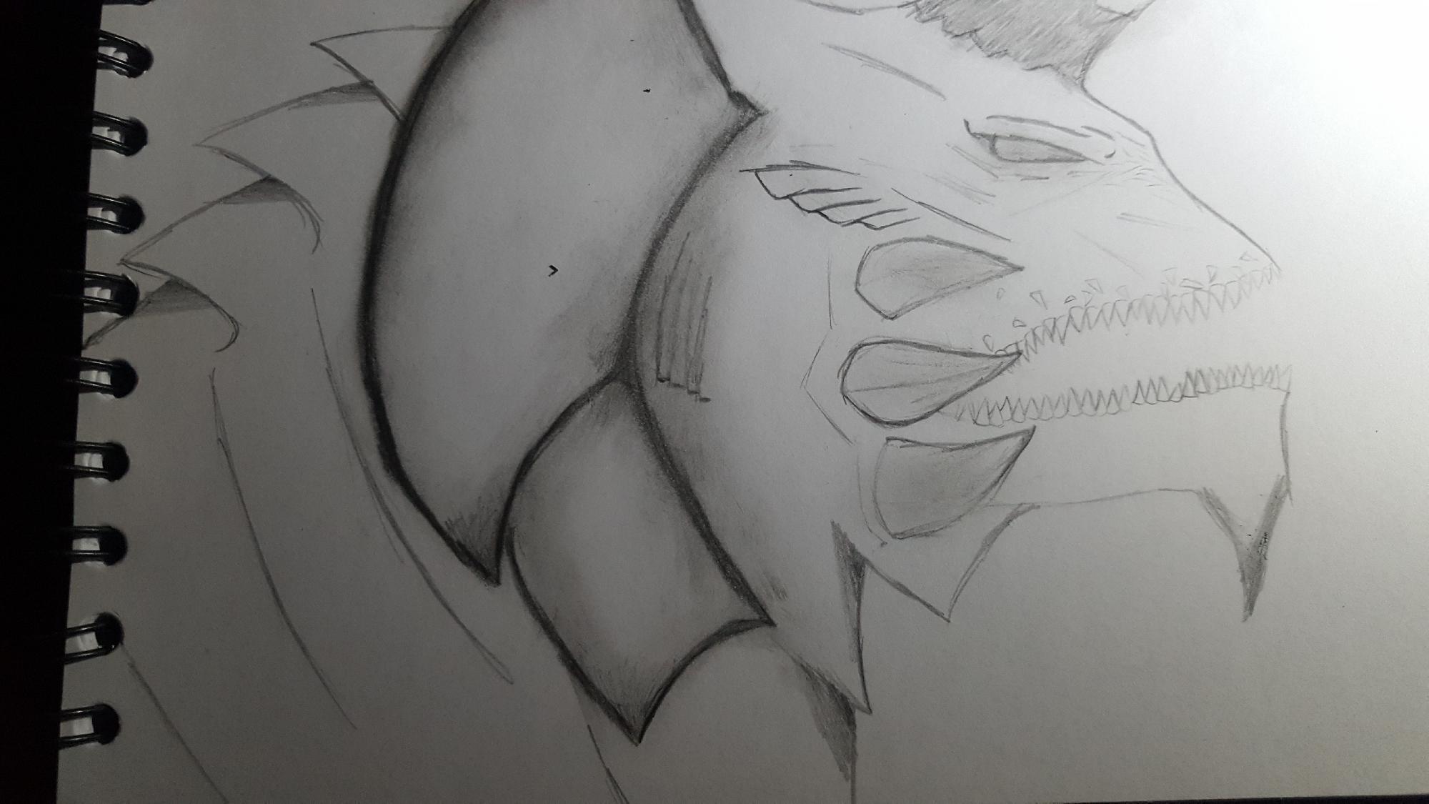 Este es mi dibujo para competencia
