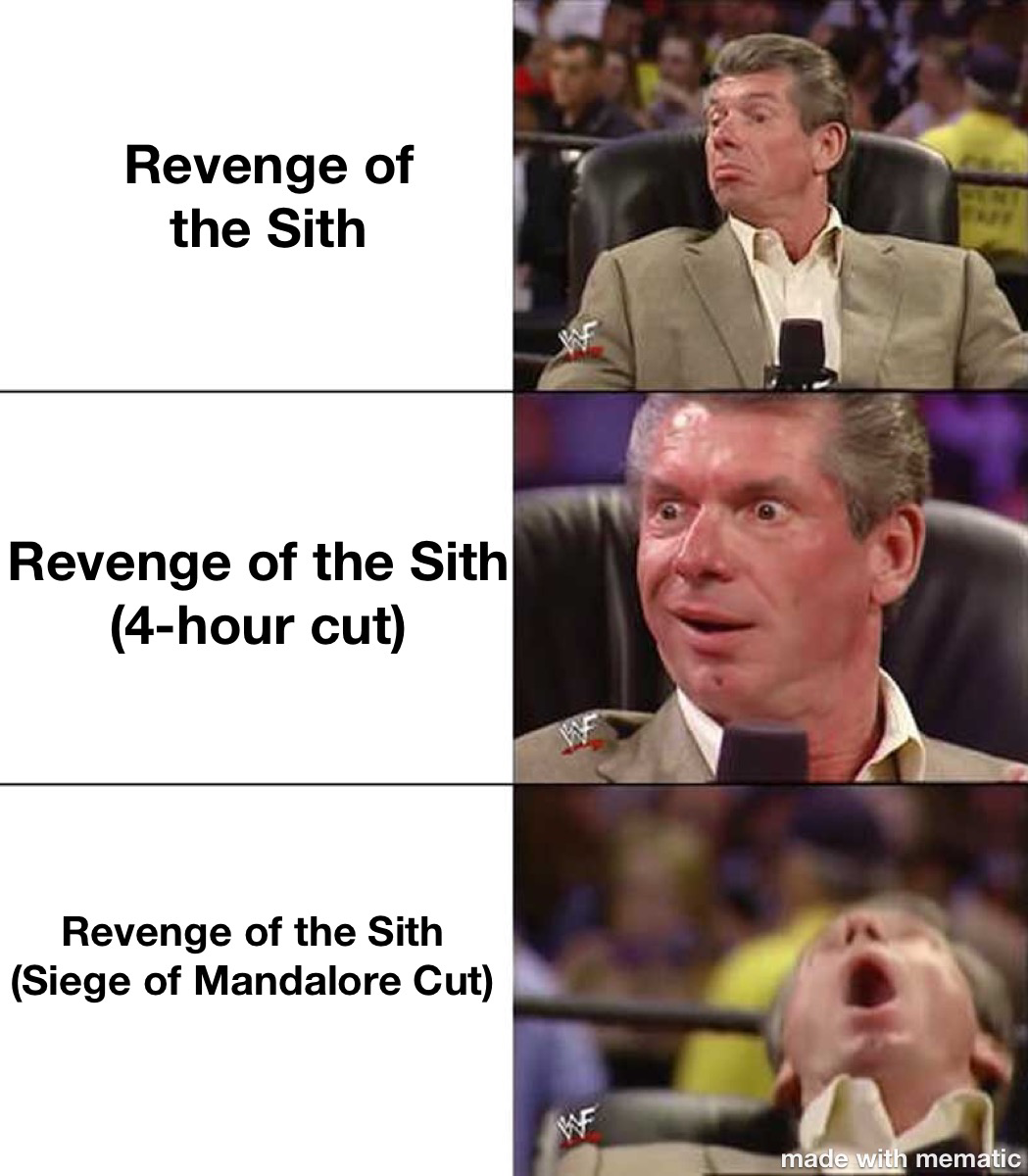 Revenge Of The Sith Meme Fandom