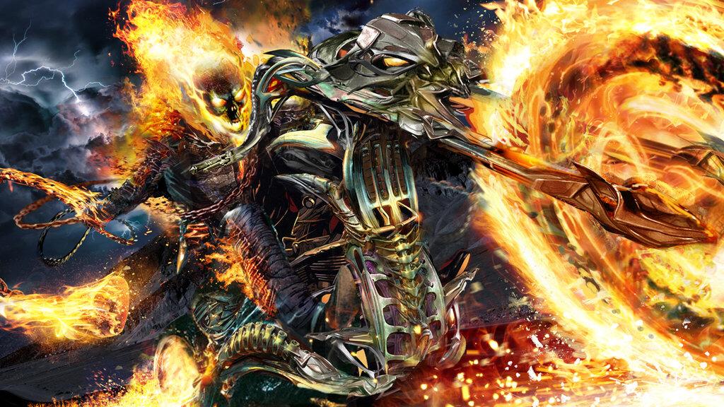 Greymalkin Unlimited: Ghost Rider