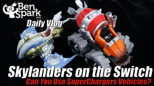 Can You Use SuperChargers Vehicles in Skylanders Imaginators for the Nintendo Switch