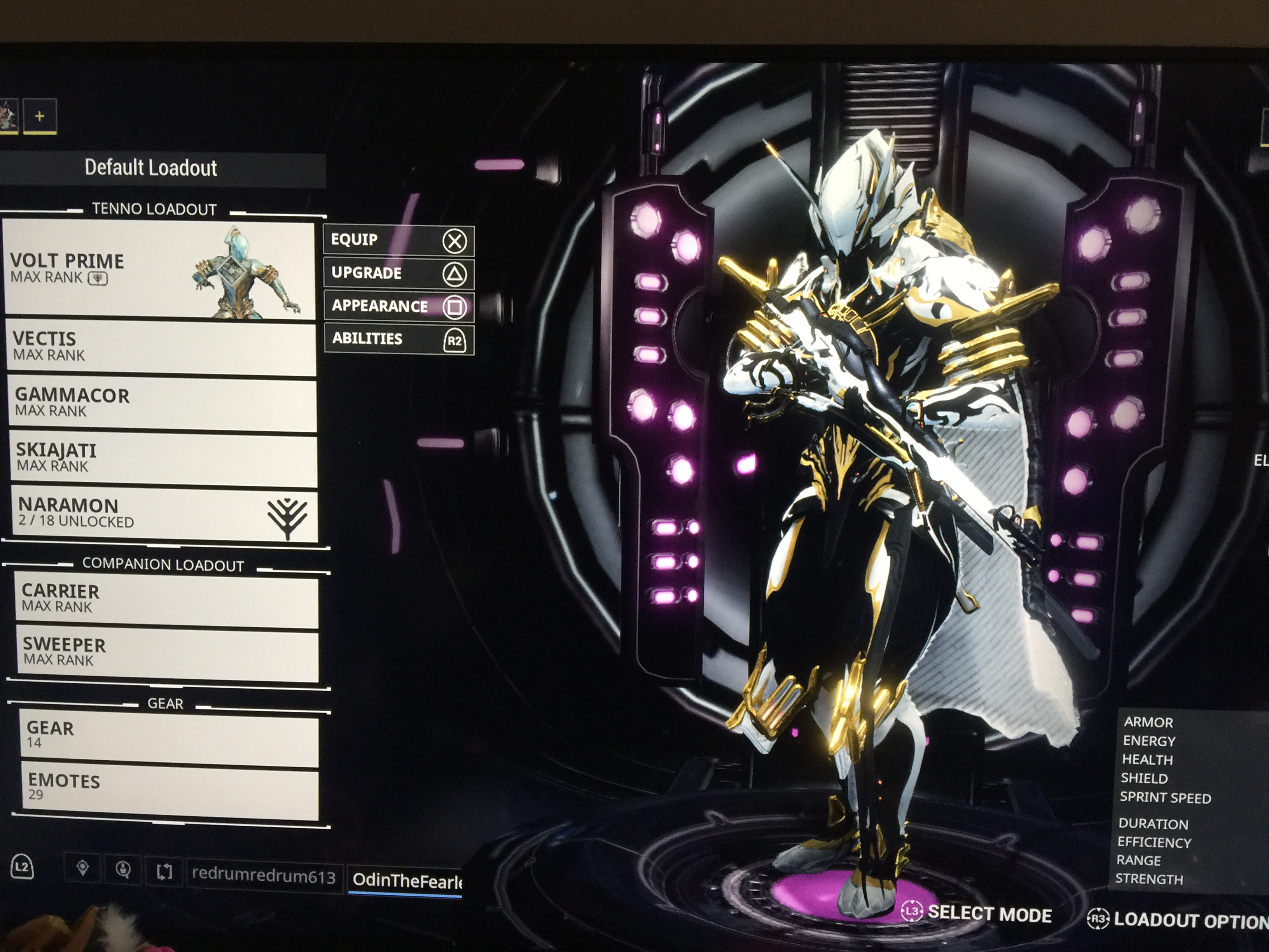 Show me your fashion frame for Volt/volt prime! Here's mine:
