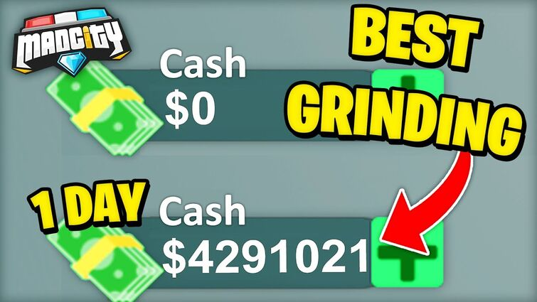 🤯 HOW TO GET *4 MILLION* CASH IN 1 DAY IN MAD CITY! FASTEST GRINDING METHOD! (Roblox)