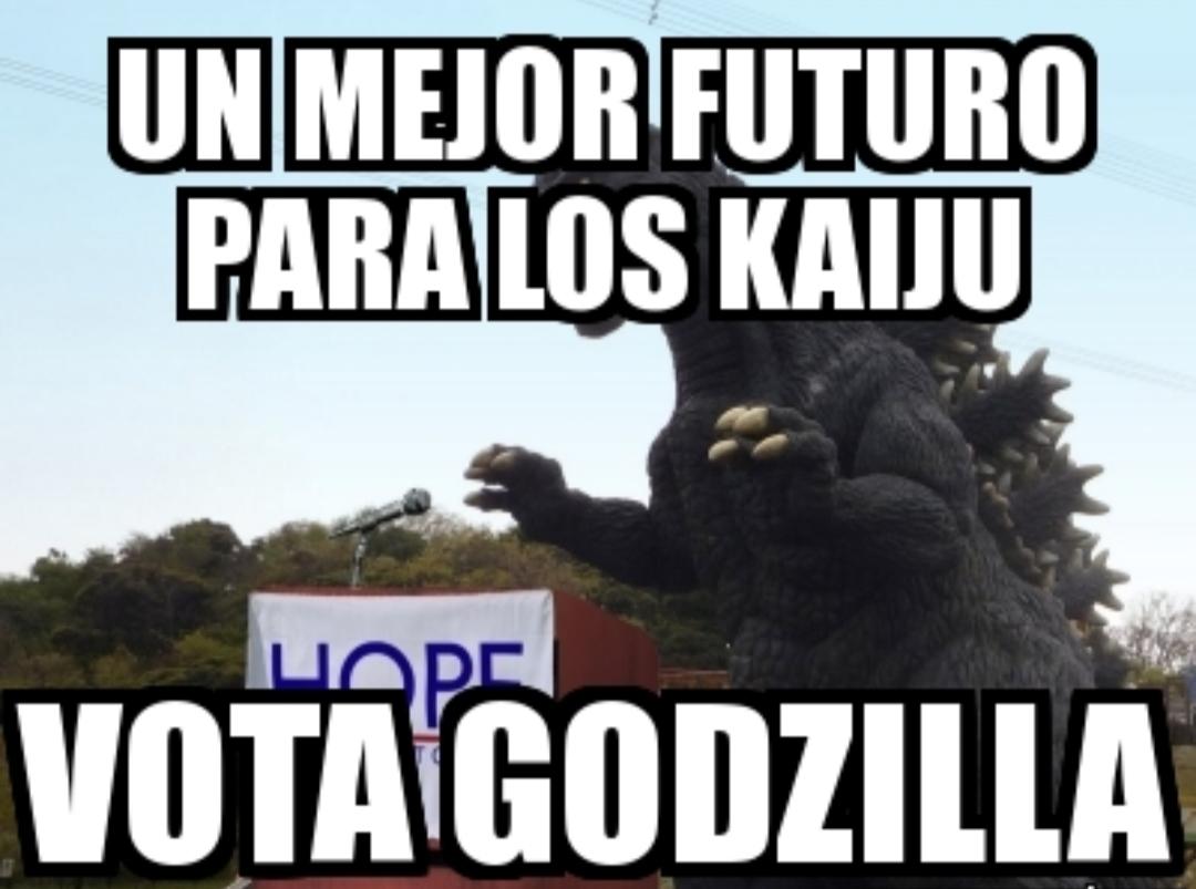 Vota por el Mejor futuro de kajus Godzilla