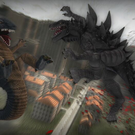 Zilla vs. Gorosaurus - Godzilla Fan Project Animation