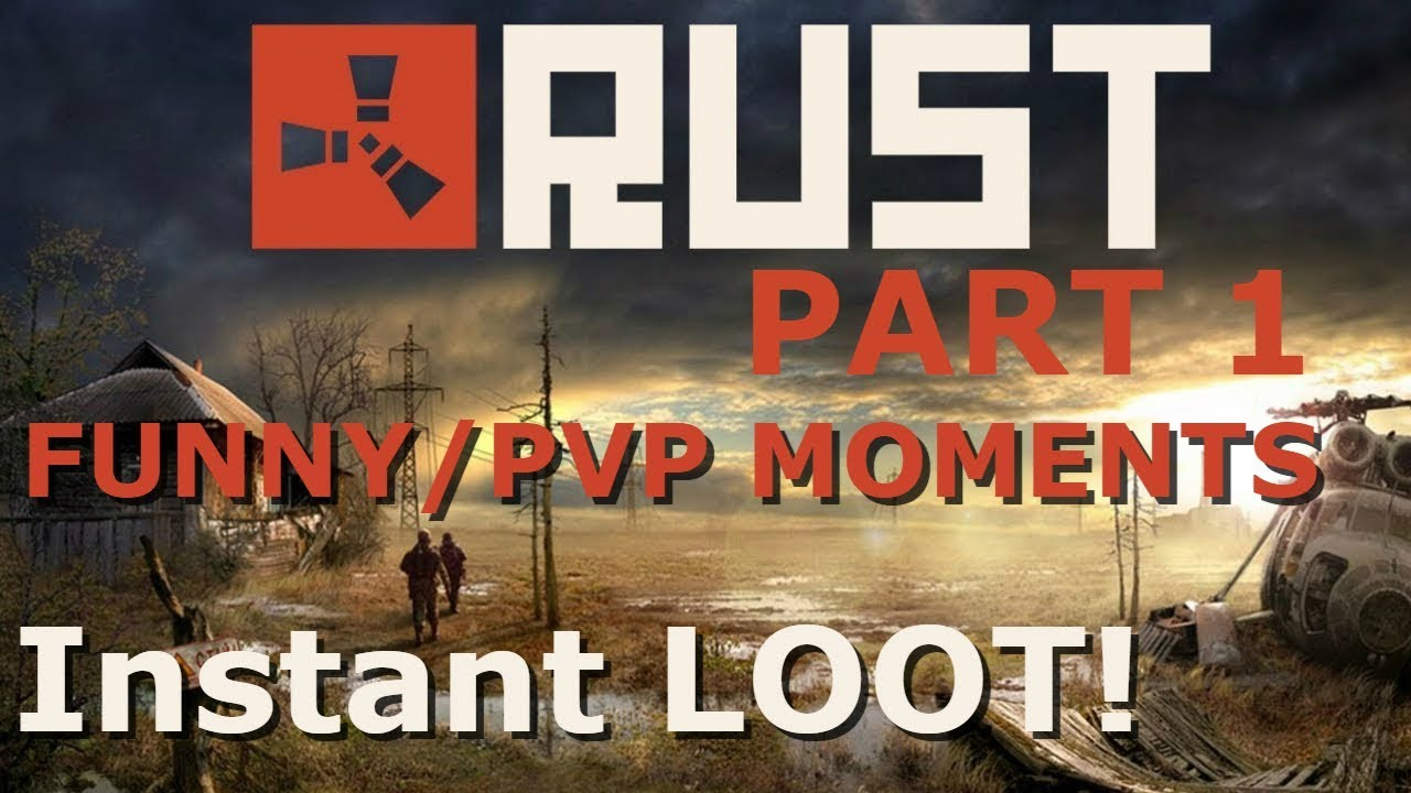 Rust | PVP/Funny Moments Montage | Surviving Off PVP |