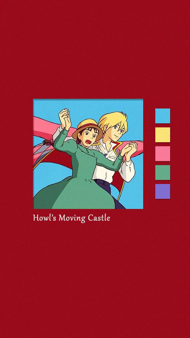 Howl's moving castle wallpaper (mine)