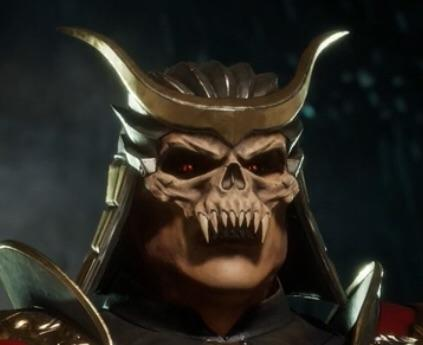 "Shao Kahn's MK9 mask is in the towers right now!!! ""Earthrealm's inevitable Monarch"""