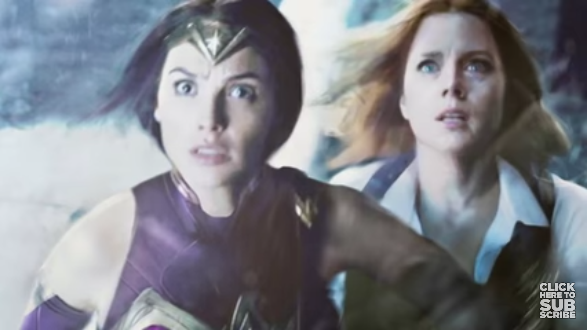 I saw this in a New Rockstars video. Gal has on the DCAU suit. Is this image real? Where's it from?
