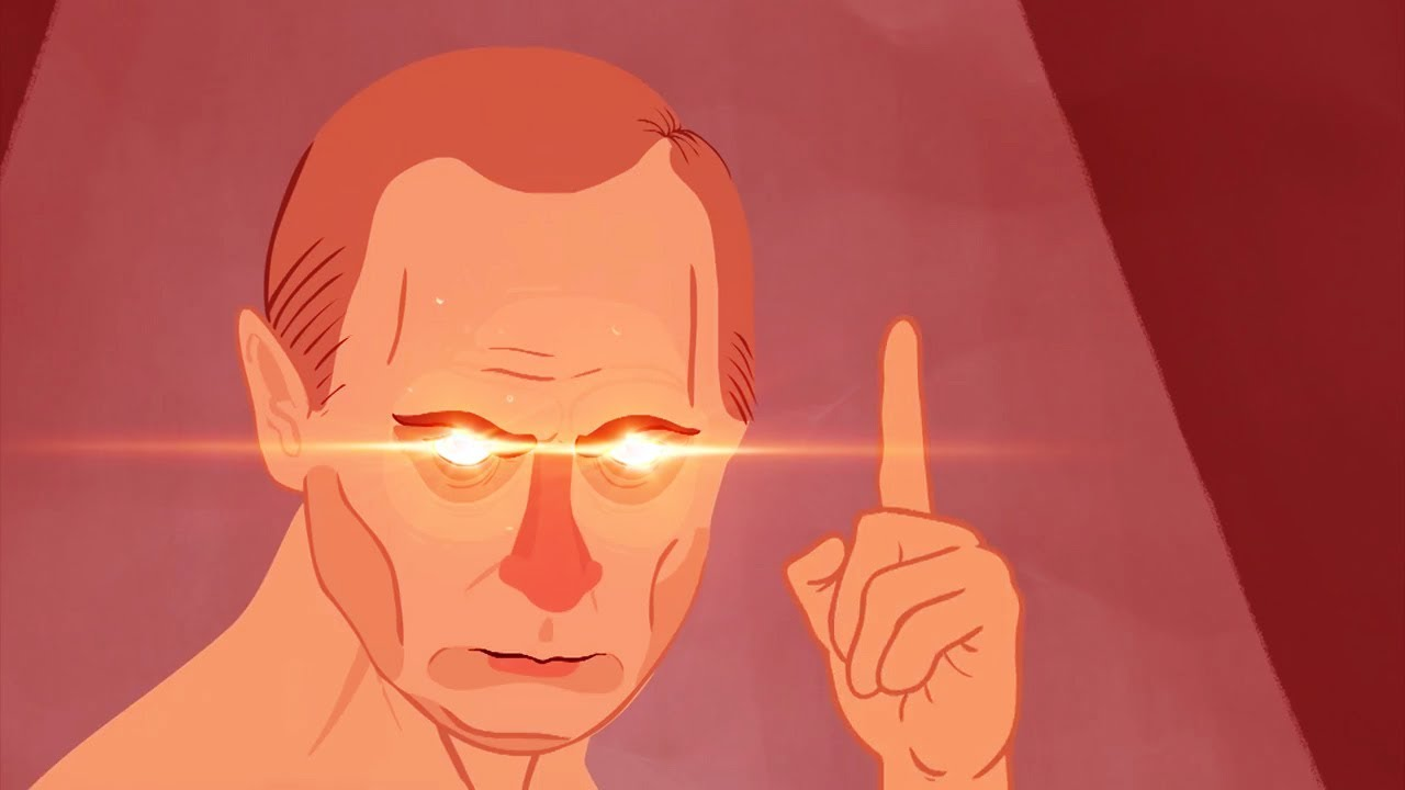 "Ra Ra RasPutin animation except every time ""Ra"" is said it speeds up by 5%"