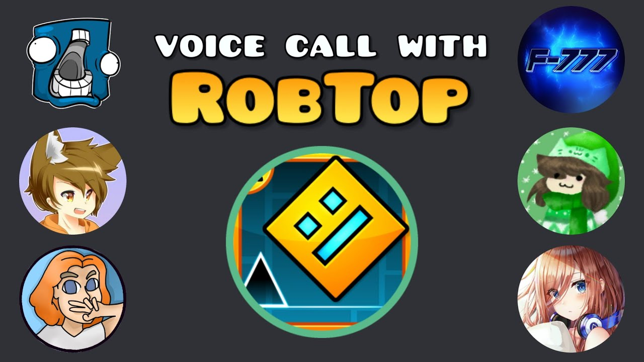Me and the Boys Interviewed RobTop on Discord