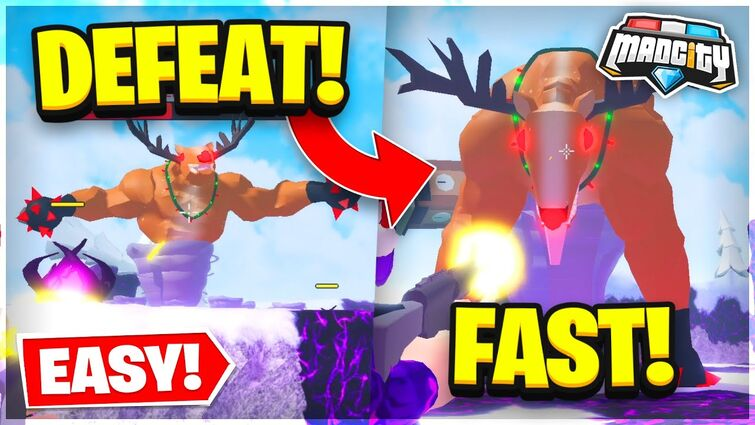 How To BEAT The BOSS FAST & EASILY In MAD CITY! 🦌 Roblox Mad City