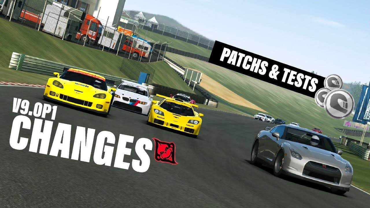 RR3 V9.0 Game Changes (Part 1 Patchs)