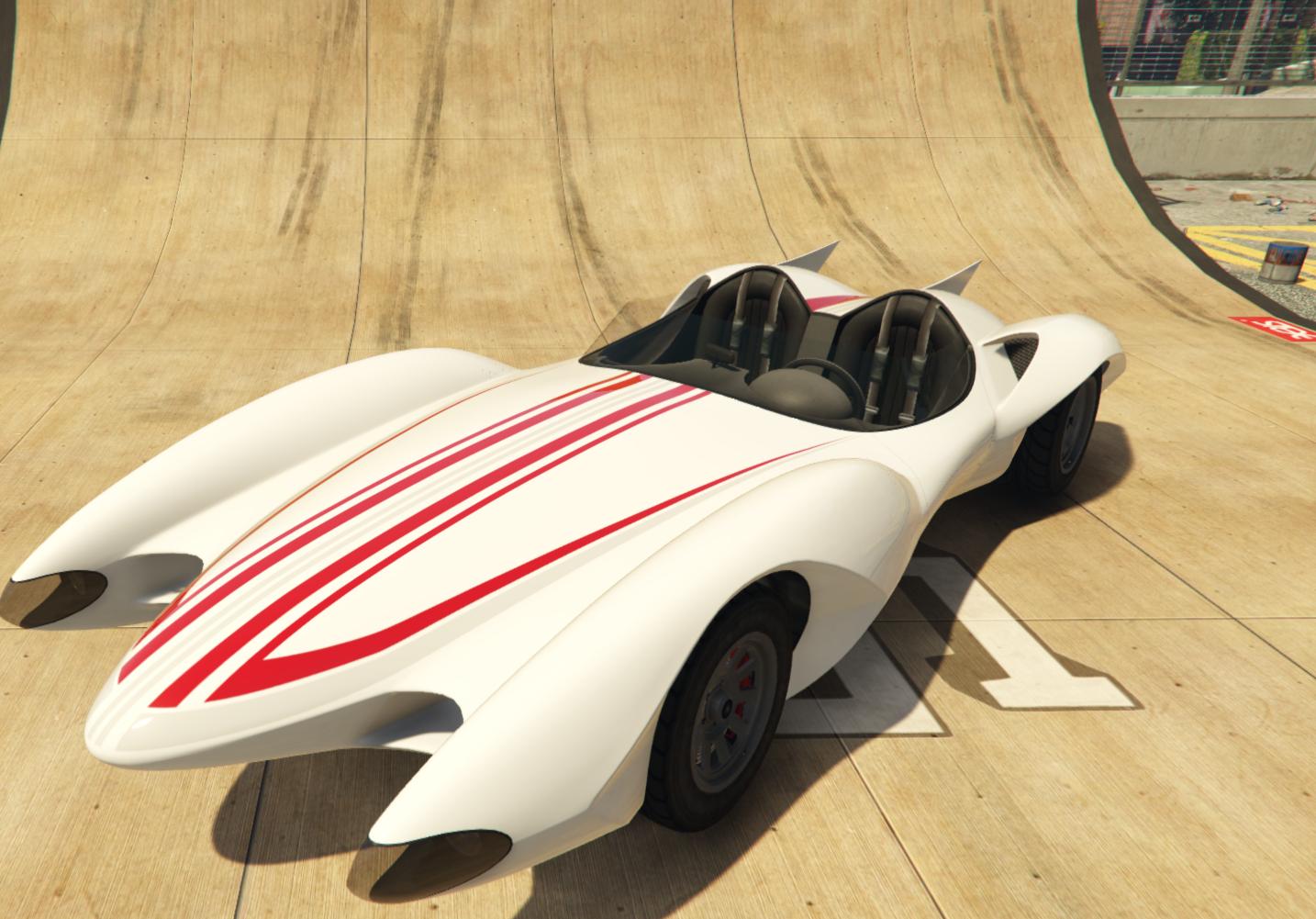 Mach 5 in GTA v