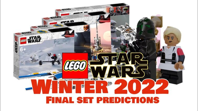 LEGO Star Wars Winter/Spring 2022 FINAL SET PREDICTIONS! + ALL INFO SO FAR!