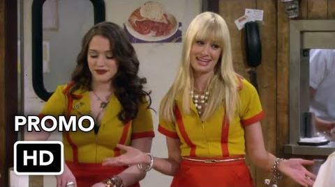 "2 Broke Girls 2x20 Promo ""And the Big Hole"" (HD)"